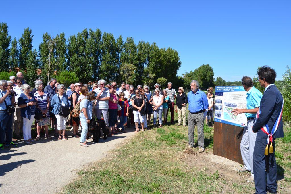 Reprise des visites du Champ de bataille des Mathes @ Chemin de la Tisonnière à St Hilaire de Riez